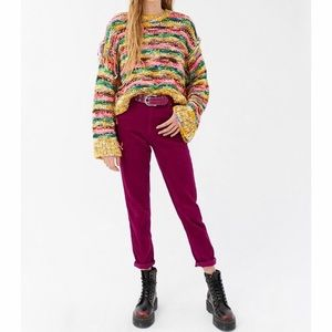 Urban Outfitters BDG corduroy high-rise mom pants